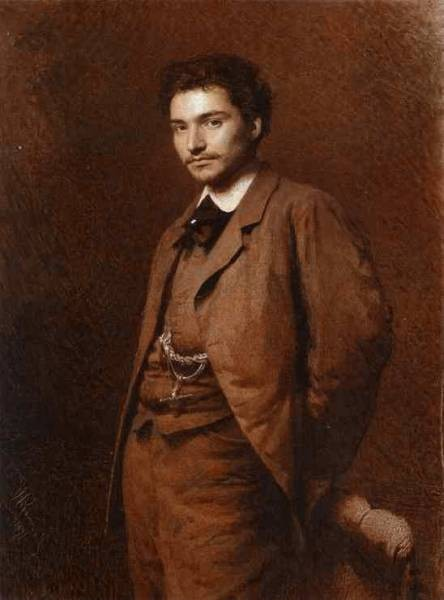 Kramskoi Portrait of the Artist Feodor Vasilyev